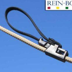 Rein-Bows fäster du enkelt på tyglarna för att få exakt rätt längd och för att hindra att tyglarna glider.