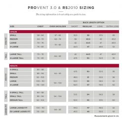 racesafe storleks guide