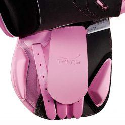 Tekna a line allroundsadel rosa under kåpan