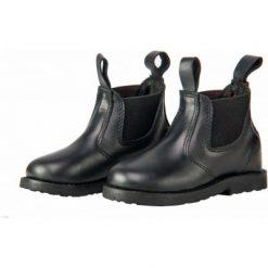 Jodphur Mini Barn läder Svart Horka