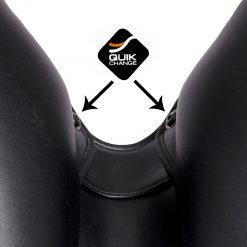 skruvar tekna dressyrsadel svart