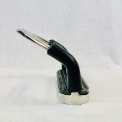 Stigbyglar Flex Svart Nova Sport är säkerhetsbyglar som även sparar knäna. Bra grepp och tillverkade i rostfritt stål.