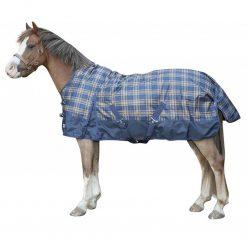 regntäcke 300gr rutigt utetäcke till häst