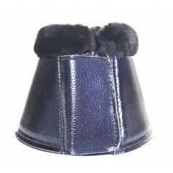 Boots metallic från hkm i marinblått