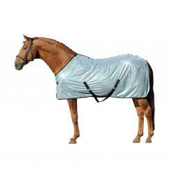 lyon silvergrå täcke på häst