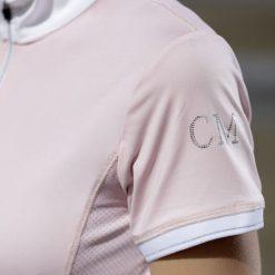 Tävlingsskjorta Venezia Rosa Cavallino Marino