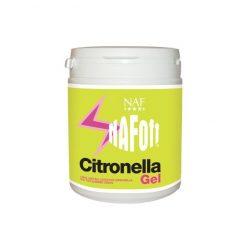Uppfriskande och citrondoftande NAF Off Citronella Gel för hästen