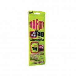 NAF Off Citronella Tag är ett silikonhänge mot mygg och knott